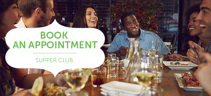 Book an appointment - Supper Club