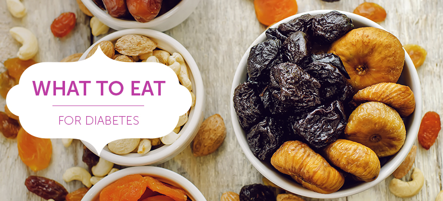 What to eat - for diabetes