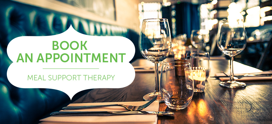 Book an appointment - Meal support therapy