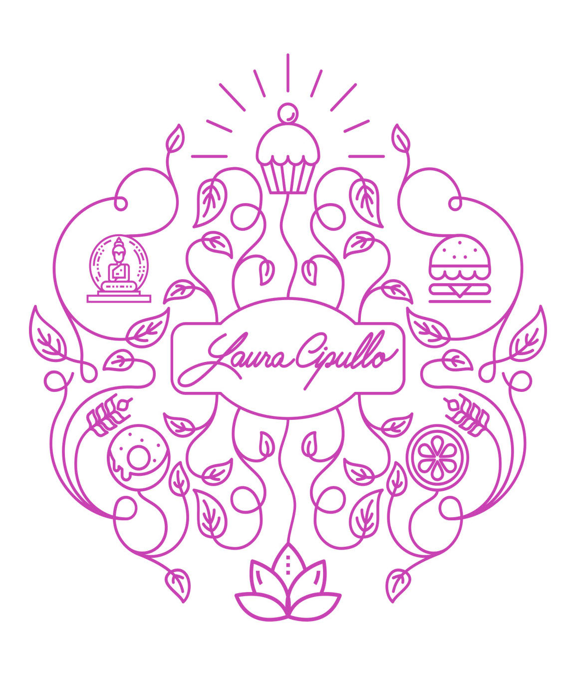 LC 3 Lines Logo square